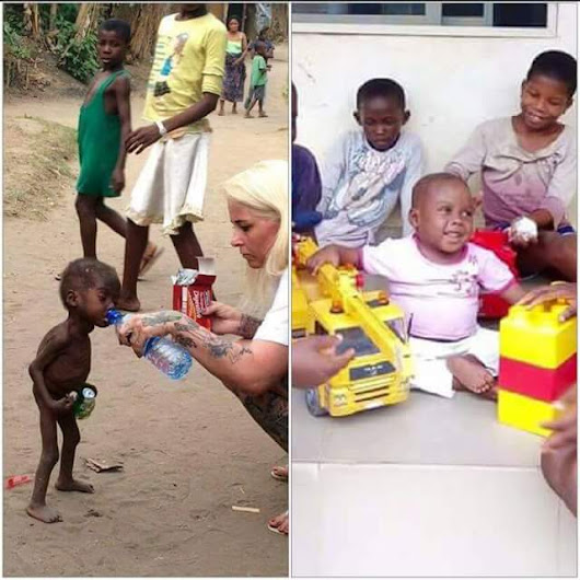 2-Year-Old Akwa Ibom Boy Labelled Witch Leaves Hospital (Pictures)