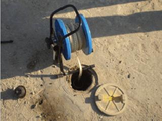 monitoramento poço usando oil water inferface equipamento mediçao fase livre contaminantes solo