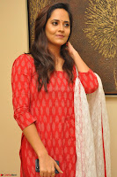 Anusuya in Red at Kalamandir Foundation 7th anniversary Celebrations ~  Actress Galleries 024.JPG