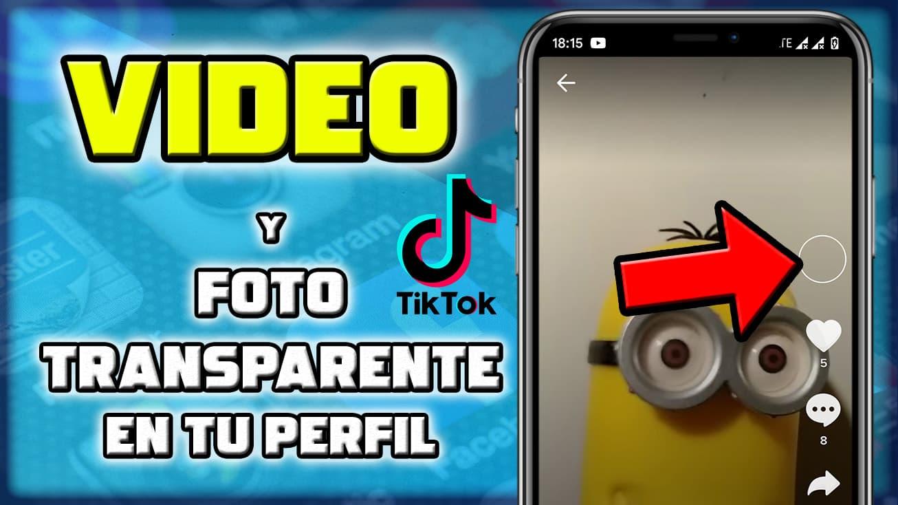 Como poner un video de foto en el perfil de TikTok