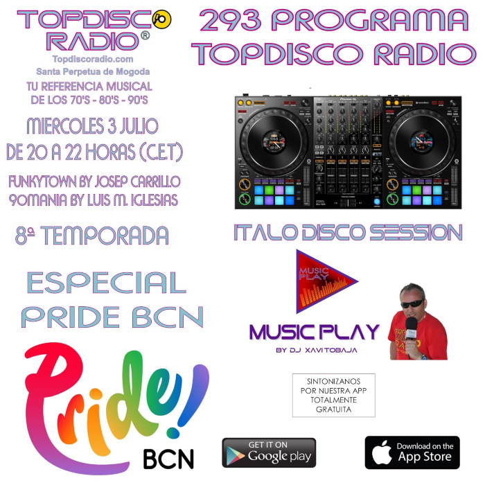 293 Programa Topdisco Radio