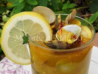 receta de caldillo de almejas de Vélez-Málaga