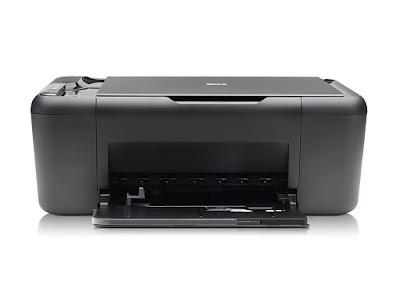 One Color Inkjet Printer Scanner Copier Photo Printer HP Deskjet F4440 Driver Downloads