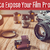 Tips on How to Expose Film Properly