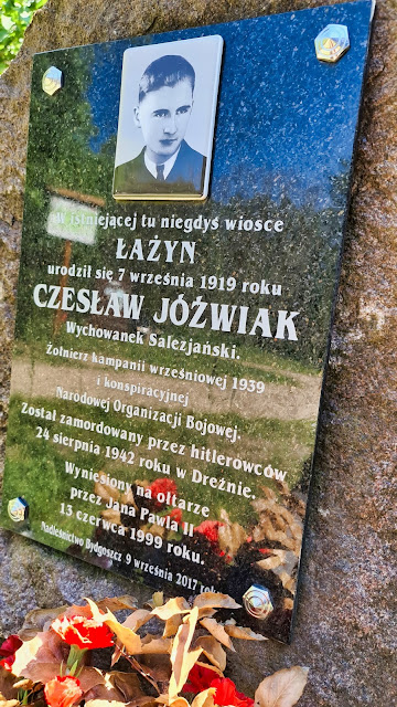 Tablica pamiątkowa Czesław Jóźwiak