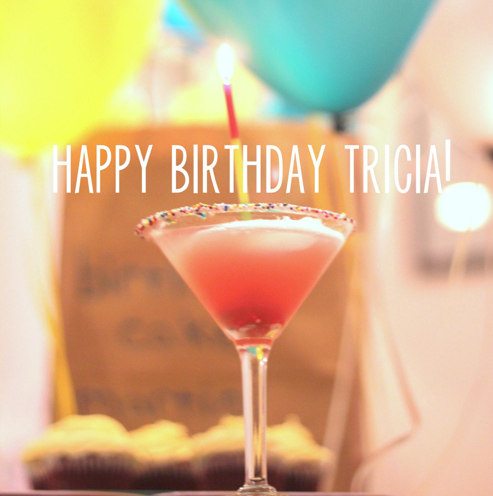 sips etc happy birthday tricia and a birthday cake martini recipe