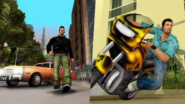 Improved GTA 3 and Vice City are available again
