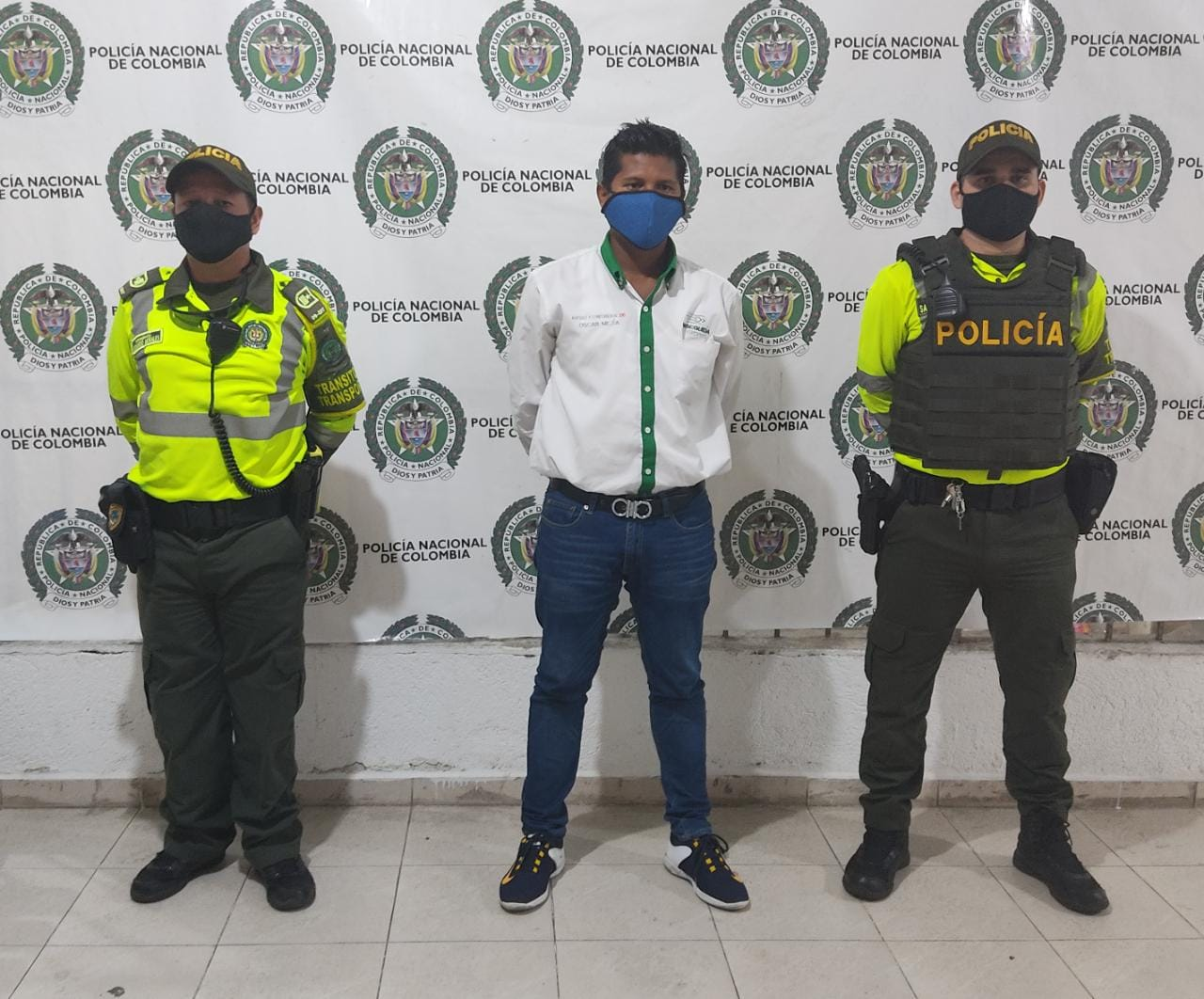 hoyennoticia.com, En Valledupar capturan hombre con circular azul de la Interpol