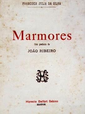 """Capa de """"Mármores""""."""