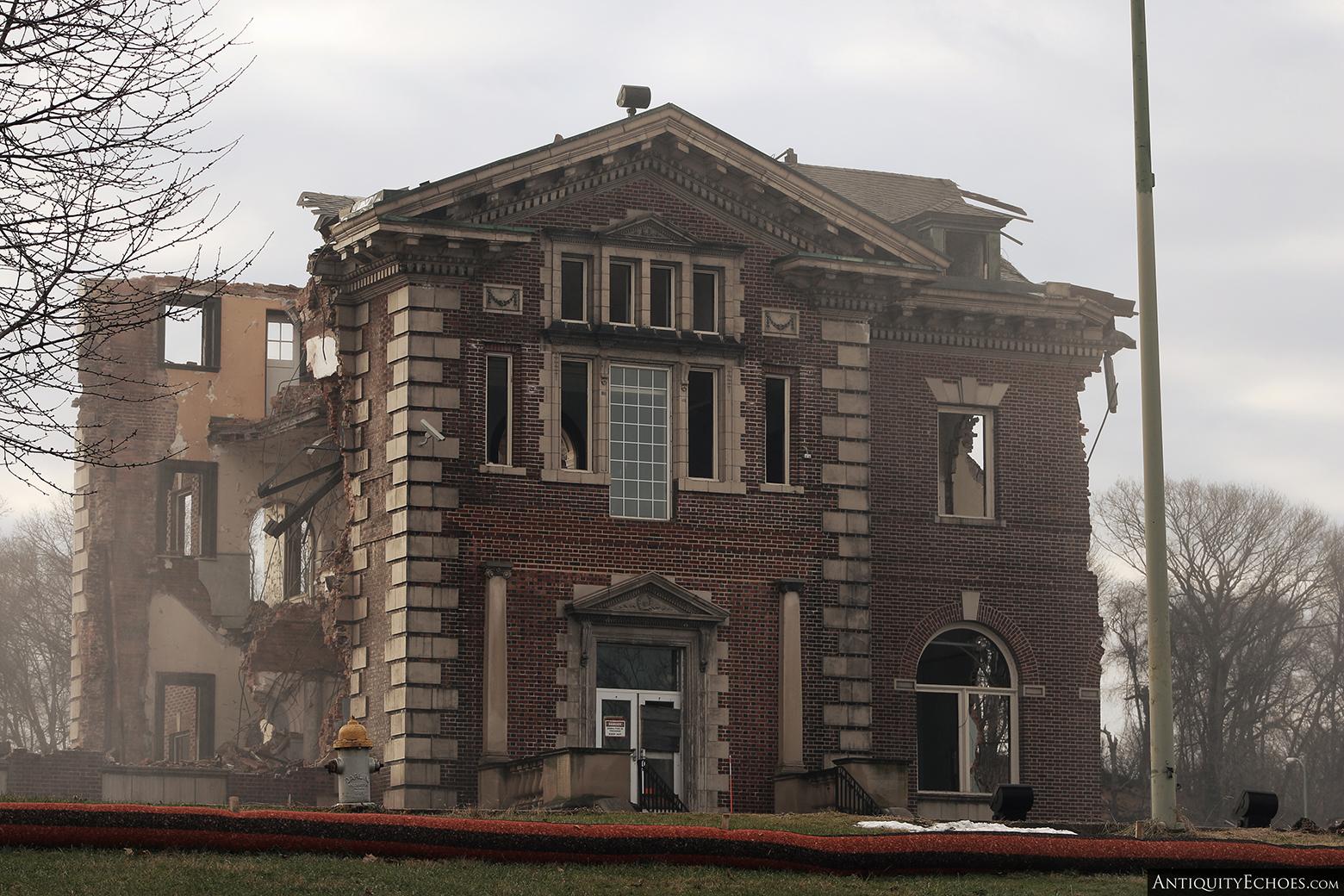 Allentown State Hospital - Demolition - Laid Waste