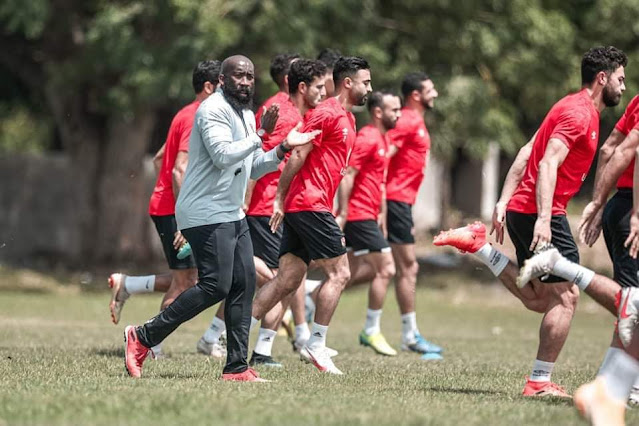 «30 دقيقة» تدريبات بدنية للاعبي الأهلي في المران الأول بتنزانيا