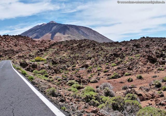 Mit dem Auto zum Nationalpark Las Canadas del Teide