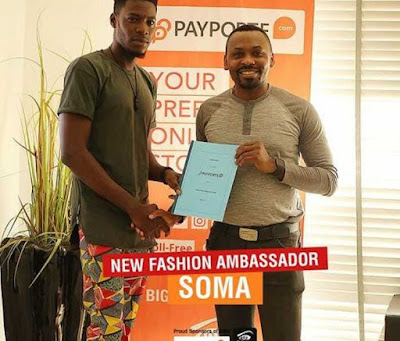Ex Big Brother Naija Housemate Soma Becomes Payporte's Fashion Ambassador