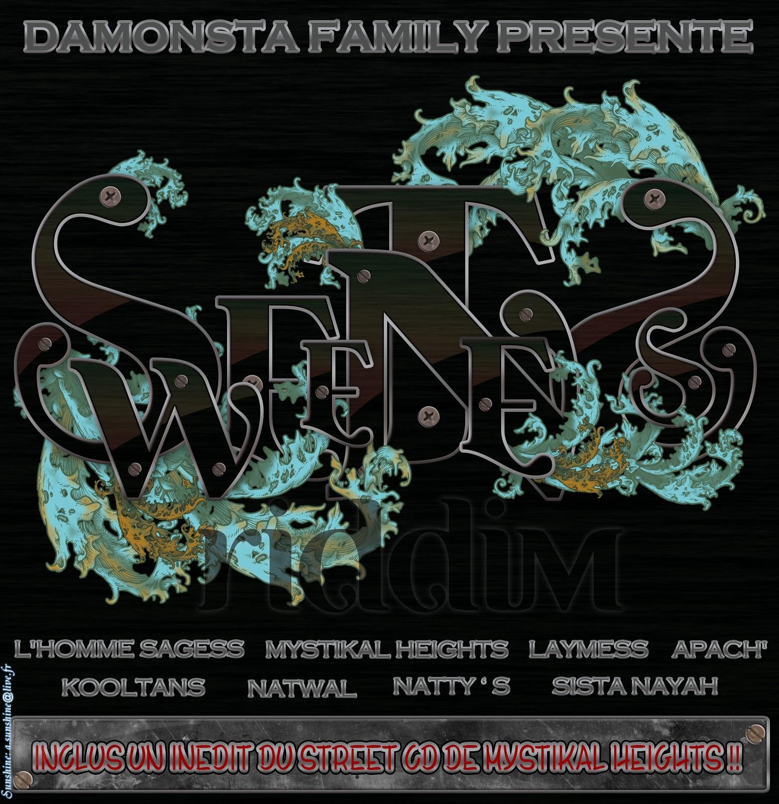 LinkUp Di CD MIX Vibes : Sweetness Riddim {Da Monsta Family
