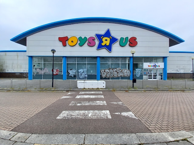 Toys R Us store at The Leisure Plaza in Milton Keynes