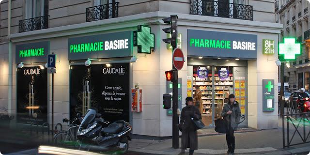 Farmácia Basire em Paris