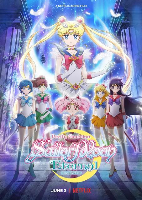 Las películas Sailor Moon Eternal se estrenarán en Netflix el 3 de junio.
