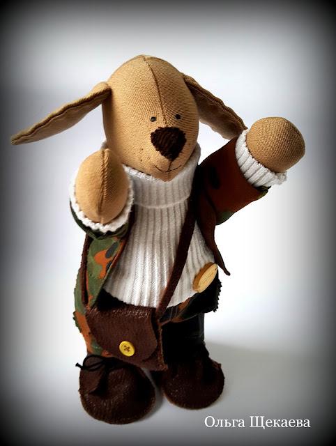 пёс, собака, ручная работа, игрушка, символ, охотник