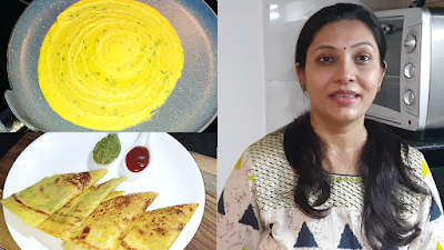 Moong Dal Chilla  Paneer and Egg How to make moong chila मूंग दाल का चीला- पनीर या अंडे के साथ