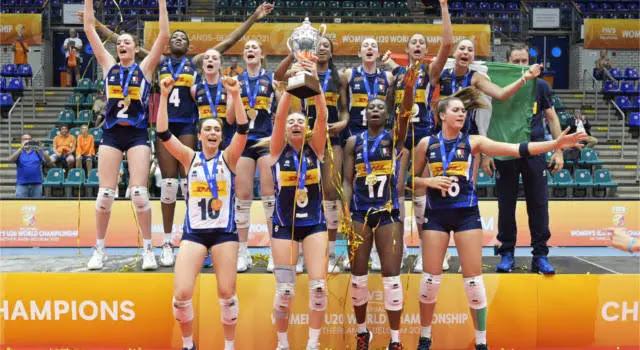 Mondiali Under 20 di volley femminile: Italia campione del mondo