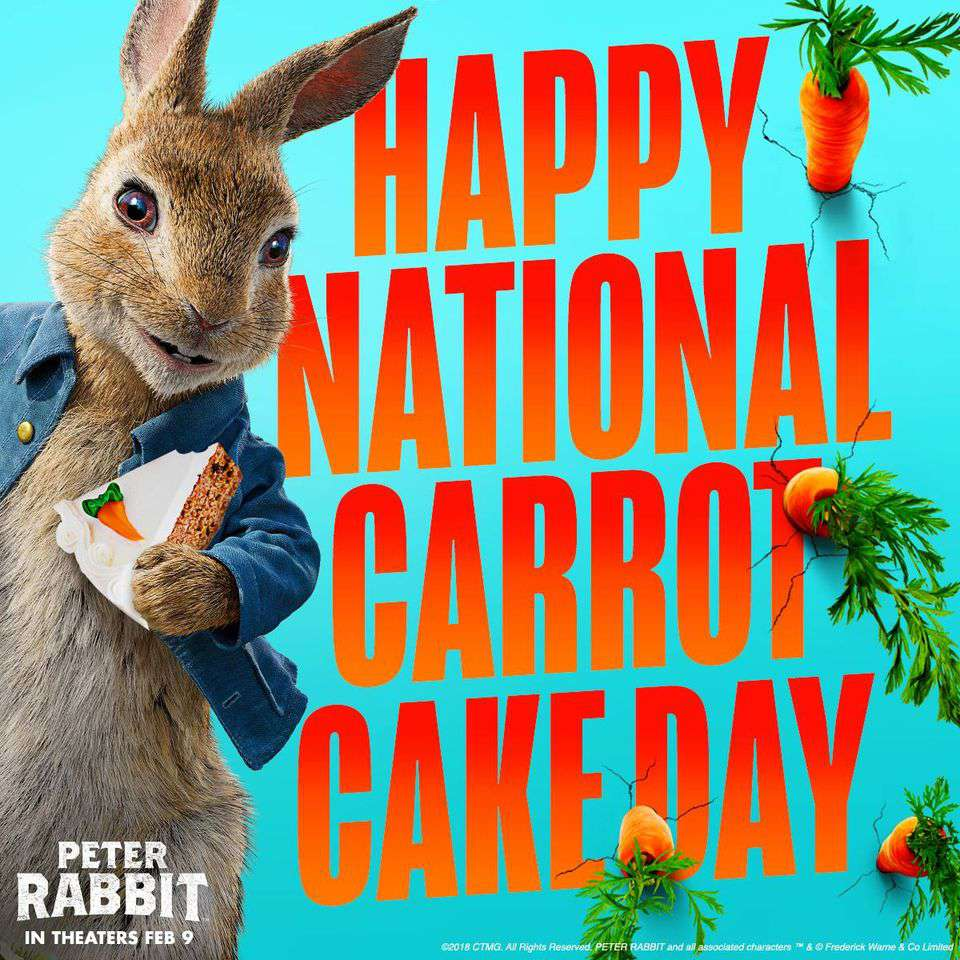 National Carrot Cake Day Wishes Awesome Picture