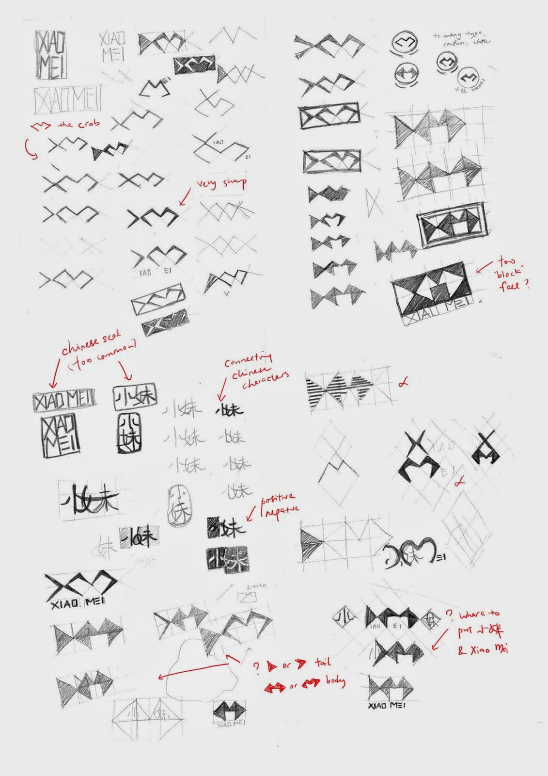 Corporate Identity: Logo Idea Generation and Sketches (1)