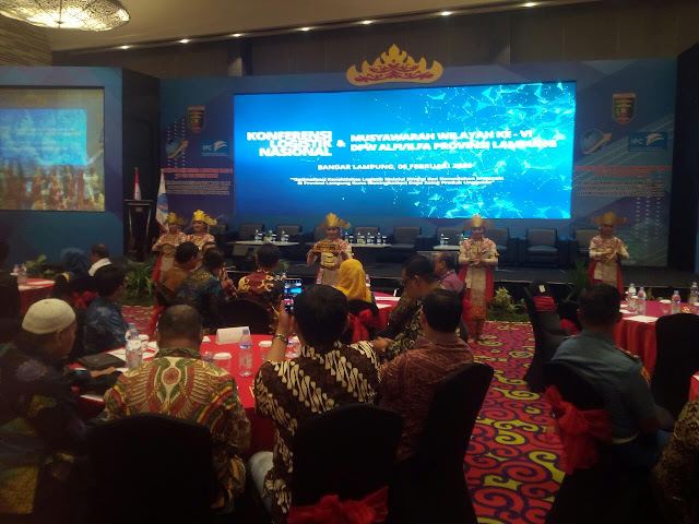 """Sementara Ketua DPW Alfi lampung """" Zamzani Yasin, mengatakan; sektor logistik merupakan ujung tombak perekonomian yang merupakan merupakan sinergi dari berbagai pihak terutama dari IPC panjang."""