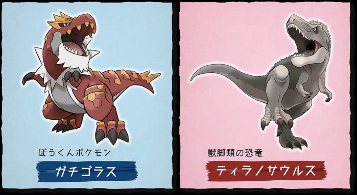 Pokémon Fossil Museum Tyrantrum