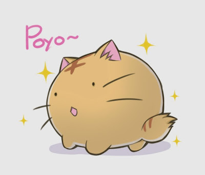 poyo, cartoon, japan
