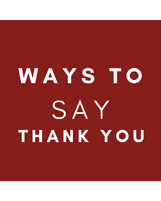 Ways to Thank Someone