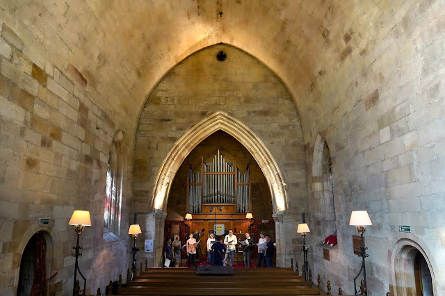 The Marian Consort recording session at Crichton Collegiate Church (photo Will Campbell-Gibson)