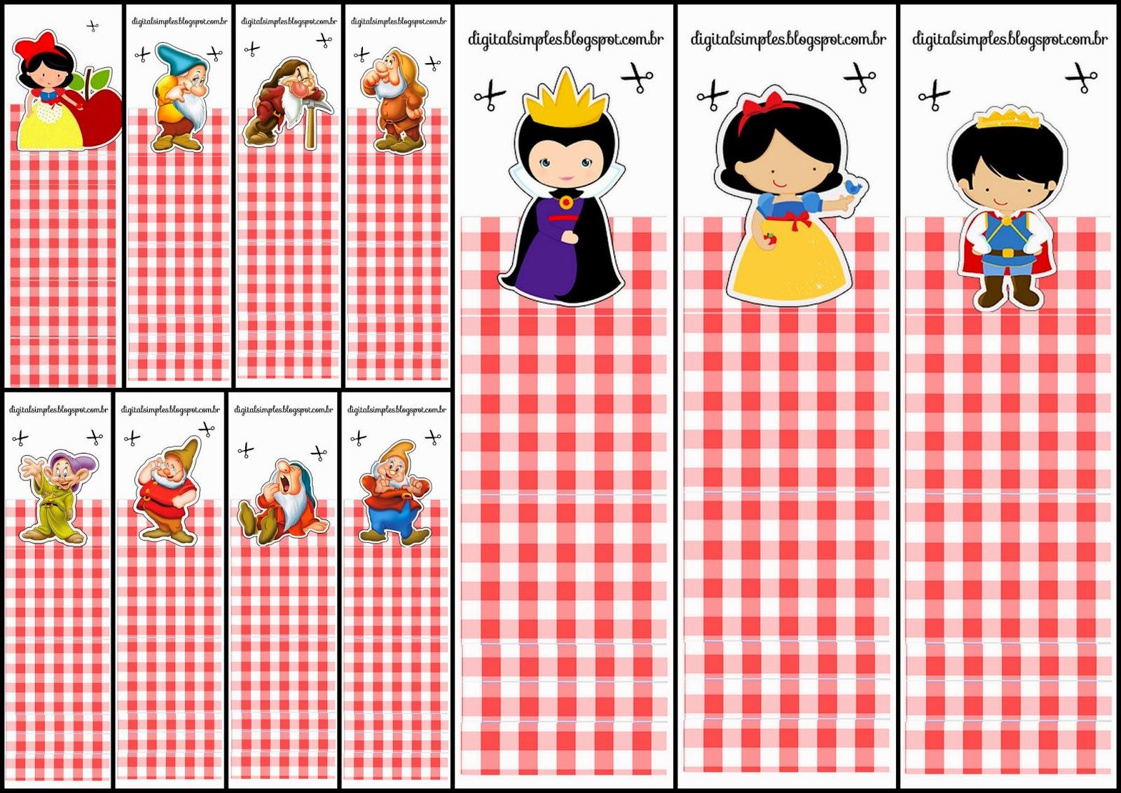 Snow White Free Printable Original Nuggets Or Gum