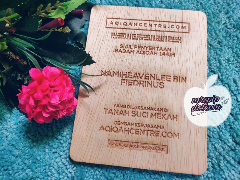 Mudah dan Murah Buat Aqiqah Anak menggunakan perkhidmatan AqiqahCentre.Com
