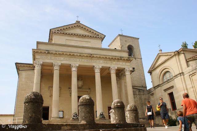 La Basilica del Santo è il principale luogo di culto di San Marino