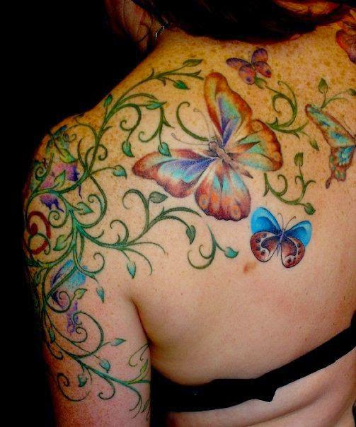 flower tattoo most in love