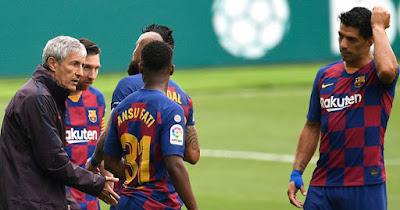 """Barca có biến: Suarez chê đội nhà kém bản lĩnh, HLV Setien """"phản pháo"""" 2"""