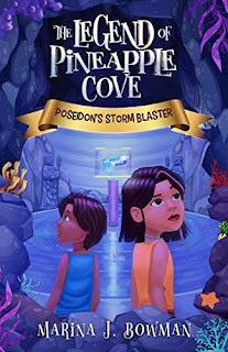 Poseidon's Storm Blaster: An Illustrated Fantasy Adventure Chapter Book for Kids 6-11 (The Legend of Pineapple Cove 1) discounted book promotion by Marina J. Bowman