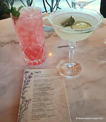 1417 Austin cocktails