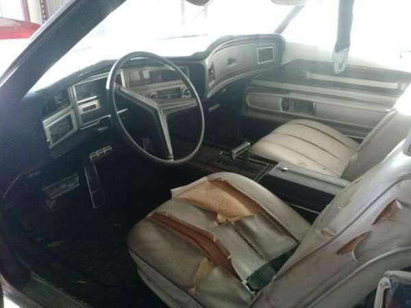 Buick Riviera Interior