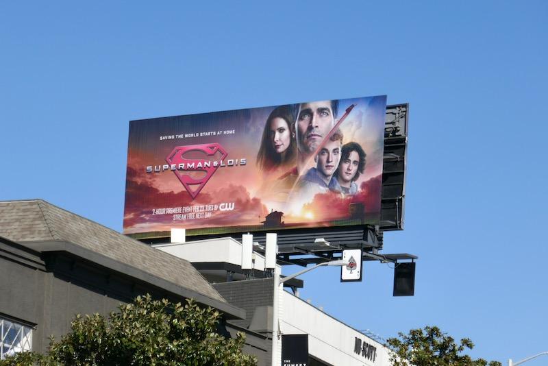Superman & Lois season 1 billboard