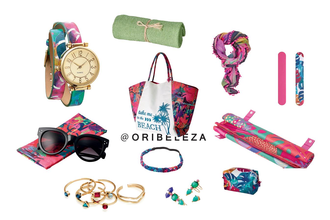 Aruba Collection - Acessórios de Praia da Oriflame