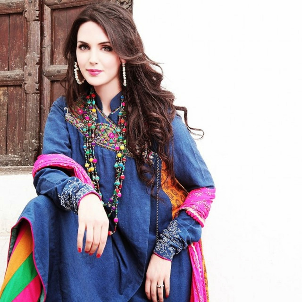 Aisha Linnea Akhtar model actress