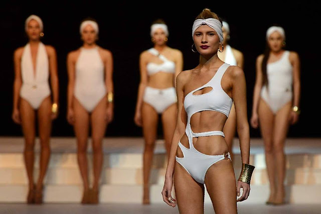 Colombo Swim wear fashion show