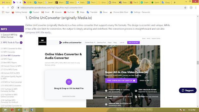 Quick video conversion