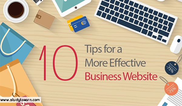 Tips for More Effective Business Website