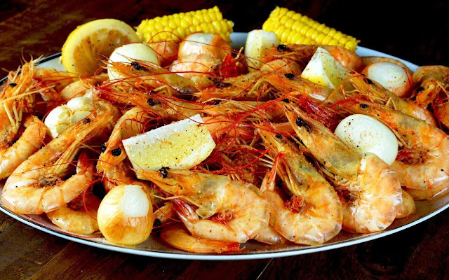 Boiled Shrimp - 1