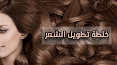 منقوع الأعشاب لتطويل الشعر
