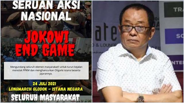 """Said Didu: """"Jokowi End Game"""" Didesain Orang Dalam untuk Mengaborsi Pengkritik"""
