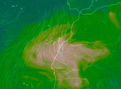 Calima a altos niveles y avisos por calor en canarias 23 agosto