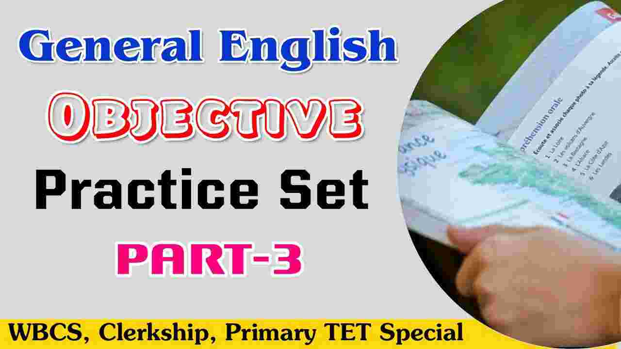General English Objective MCQ Practice Set-3 PDF Download
